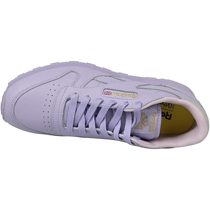 Reebok Classic Leather BD5543 Enfant mixte Baskets Violet