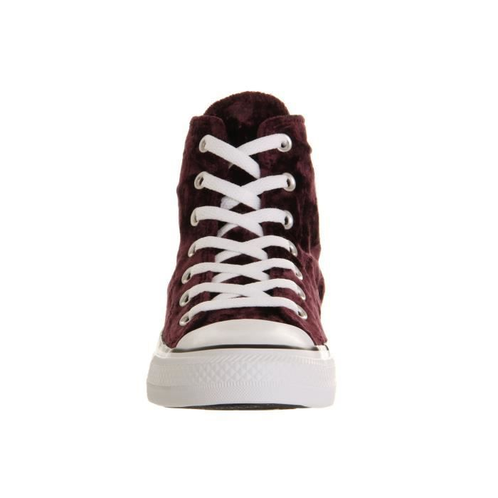 CONVERSE ALL STAR LIMITED VELOURS VIOLET POURPRE