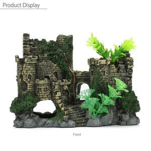 Decoration aquarium for Deco aquarium pas cher