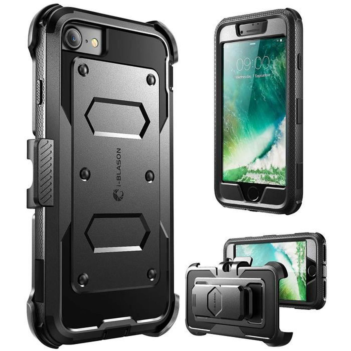 Coque housse de protection int grale i blason armorbox for Housse protection iphone 7