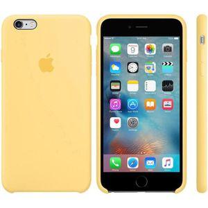 coque apple jaune iphone 7 plus