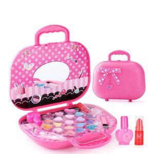 PELLE À CENDRE 1pcs Pour Enfants Maquillage Boîte Princesse Ensem