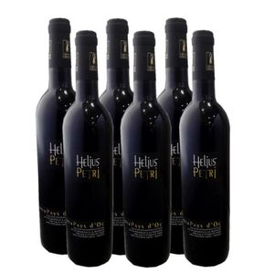 VIN ROUGE HELIUS PETRI Vin Rouge Pays d'Oc IGP 2019 , Vin d'