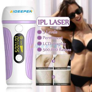 LUMIERE PULSEE - LASER Aideepen Épilateur à lumière pulsée - C03887