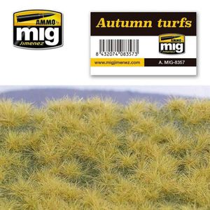 ARBRE - BUISSON Autumn Turfs - Décor Modélisme - MIG jimenez AMMO