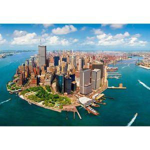 PUZZLE Puzzle 2000 pièces New York City avant le 11 Septe