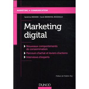 MANUEL UNIVERISTAIRE Livre - marketing digital