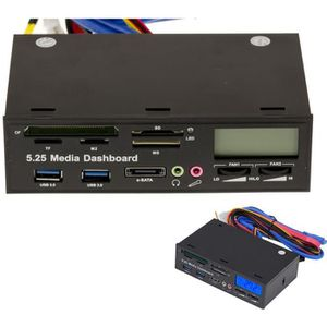 CARTE CONTROLEUR Façade avant pour baie disque dur ou CD ROM 5.25