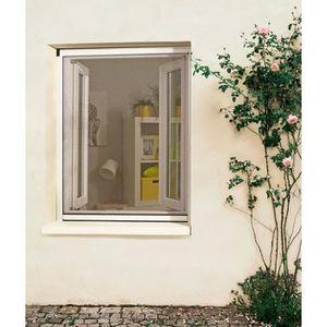 MOUSTIQUAIRE OUVERTURE PROTECTA Moustiquaire PVC - 80 x 130 cm - Blanc