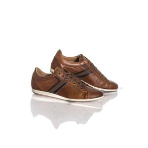 BASKET Chaussures Redskins Baskets en cuir Wasek camel ma