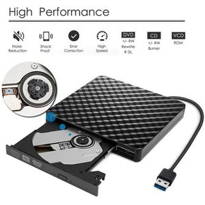 LECTEUR - GRAVEUR EXT. Graveur Lecteur de DVD externe USB 3.0 haute vites