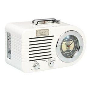 Radio réveil RICATECH - PR220 - Radio retro analogique AM/FM