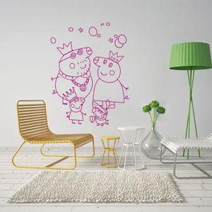 STICKERS Sticker Décoration murale Salon Chambre Enfants Pe