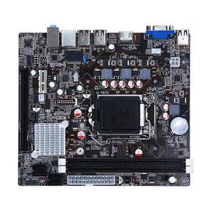 CARTE D'ACQUISITION  La carte mère DDR3 Intel H61 1155 broches prend en