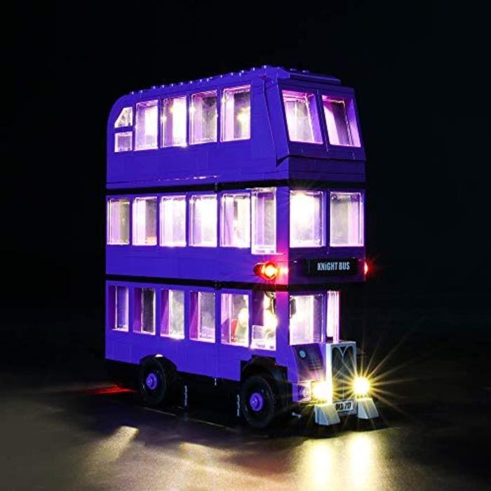 Jeu D'Assemblage HCJO1 jeu de lumières pour modèle de blocs de construction (harry potter the knight bus) - kit de lumière à led com