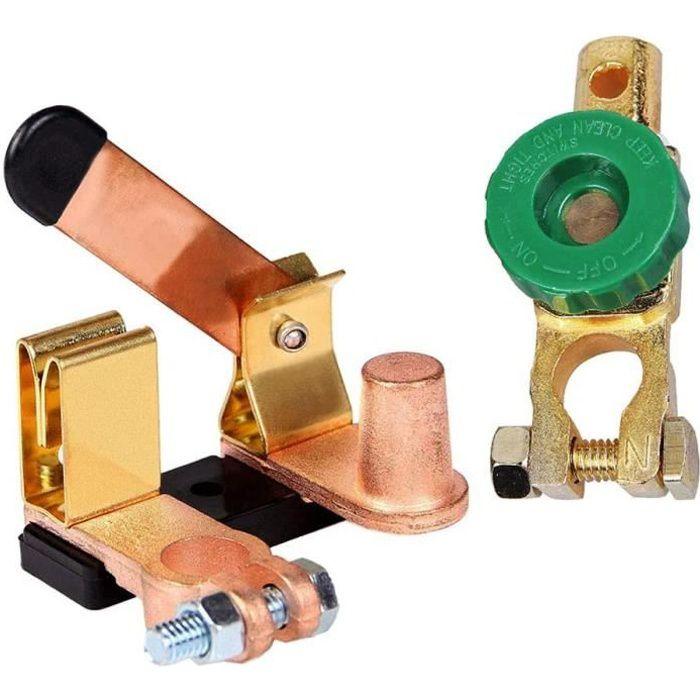 Interrupteur De Batterie Coupe-Circuit Extrémité De Batterie De Voiture, Batterie Isolateur Cosse Coupe Circuit Interrupteur