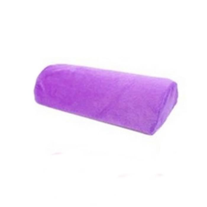 Repose-mains en éponge doux lavable, repose-mains, repose-bras, pour Salon de manucure, Nail Art purple -AOAE18020
