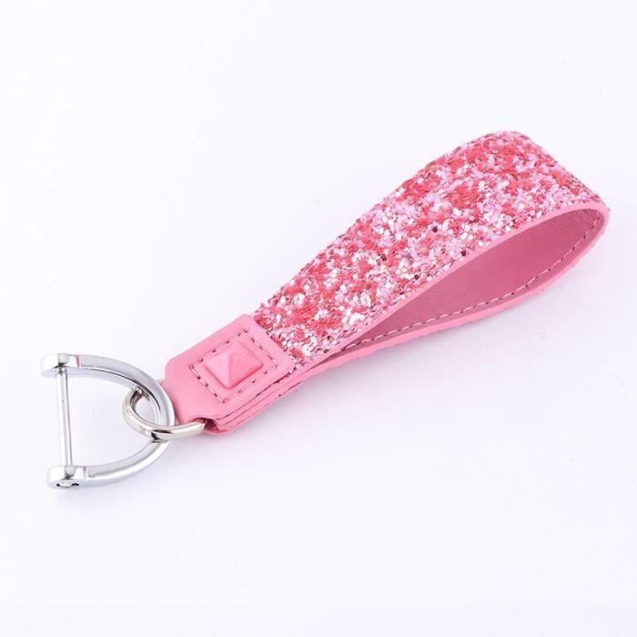 Coque de Protection en cristal et diamant pour clé de voiture, pour Mercedes benz A B R G classe GLK -A-Pink keychain