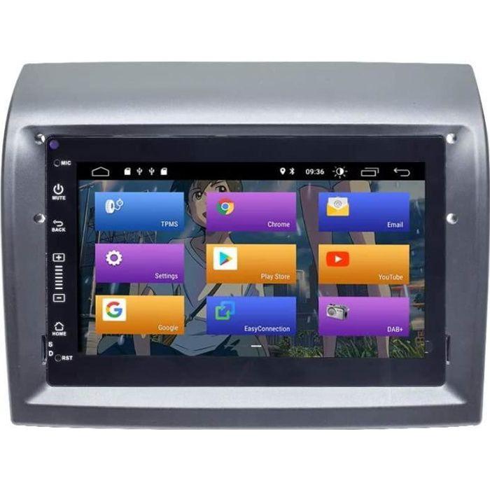 BOOYES pour Fiat Ducato Peugeot Boxer Citroen Jumper Android 10.0 Double Din 7-Voiture Multimédia GPS Navigation Auto Radio Stéréo V