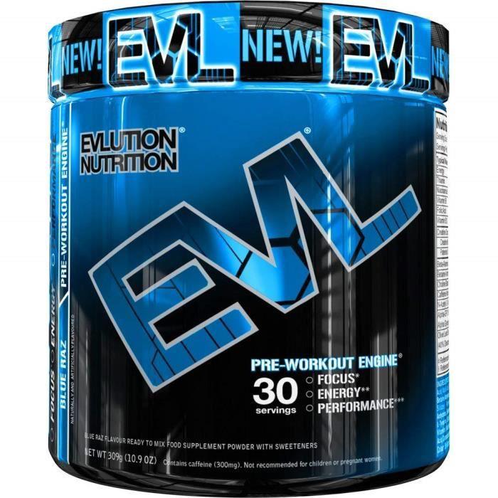 Evlution Nutrition ENGN SHRED - Supplément Pour La Réduction Du Poids- Poudre Pré-entraînement-Brûleur De Graisse