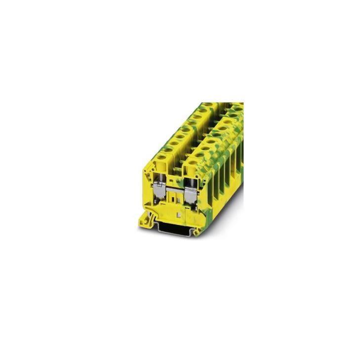 Bloc de jonction pour conducteur de protection Contenu: 50 pc(s) Phoenix Contact UT 16-PE 3044212