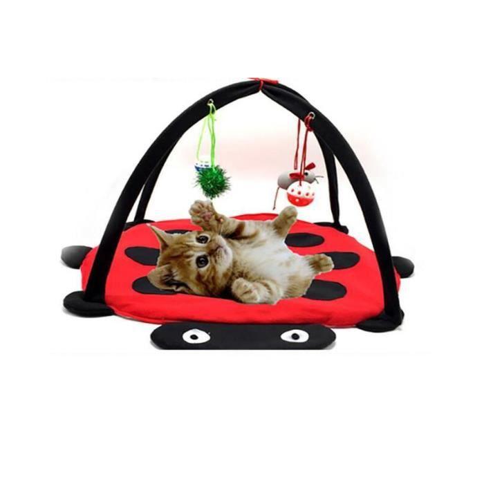 STOEX®chat lit jouets jouets chat lit l'activité mobile jouant lit - mobilier chat tente de jouets couverture maison pet