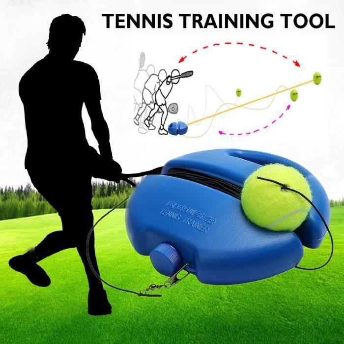 Tennis Ball Singles formation Balles de base Retour Outils Trainer et Tennis pratique d'entraînement