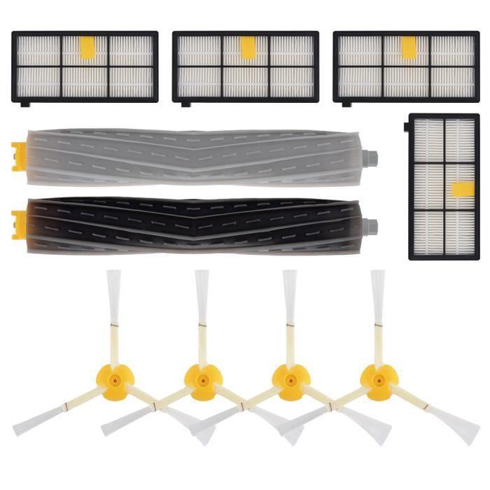 XCSOURCE 10pcs pièce de rechange kit filtre à brosse pour iRobot Roomba 800 805 870 871 série 880 robots aspirateurs HS1222
