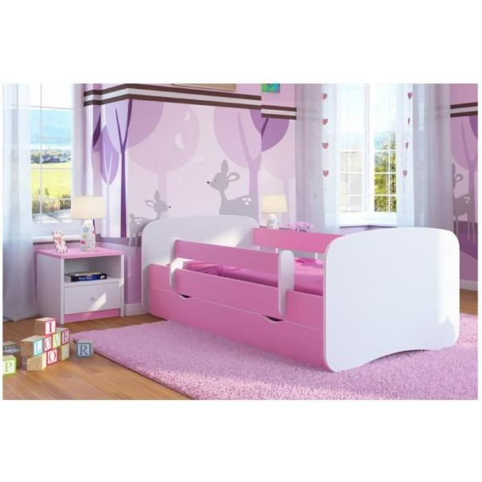 lit enfant avec barriere securite achat vente lit. Black Bedroom Furniture Sets. Home Design Ideas