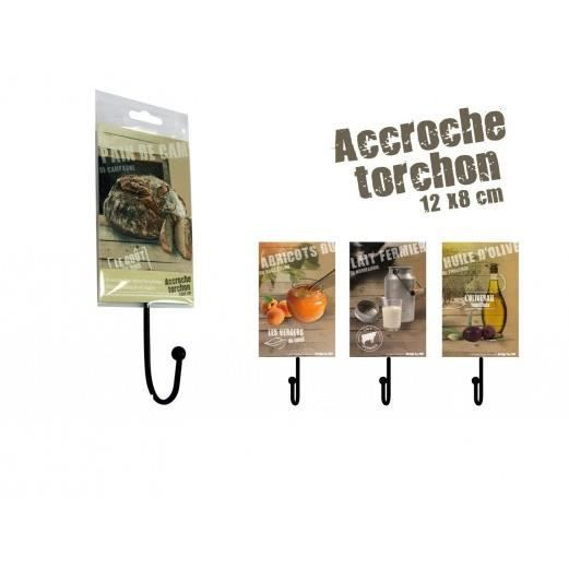 accroche torchons abricot achat vente torchon essuie main cdiscount. Black Bedroom Furniture Sets. Home Design Ideas