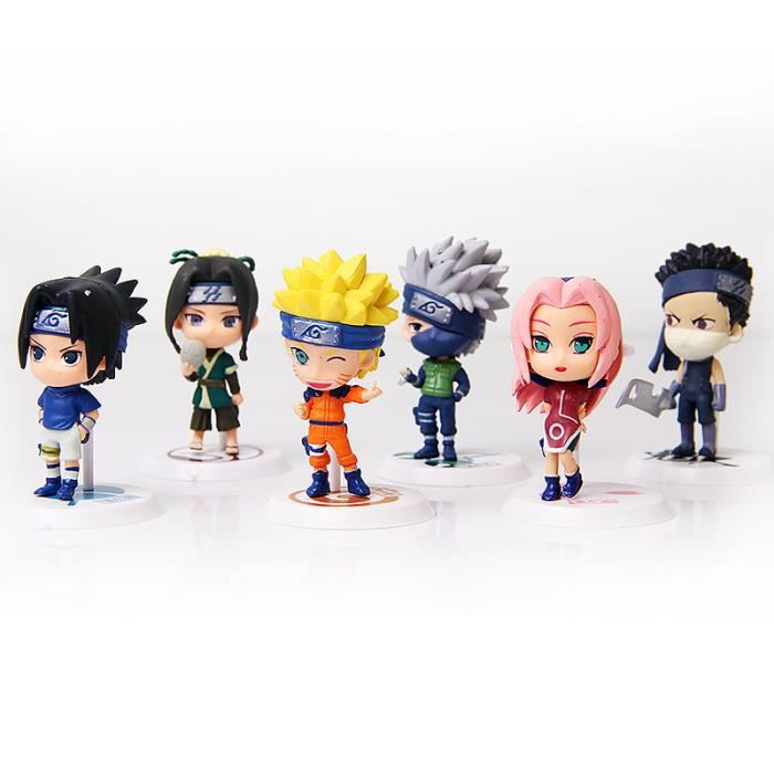 action figurine manga naruto hauteur 7cm ki achat vente figurine personnage cdiscount. Black Bedroom Furniture Sets. Home Design Ideas