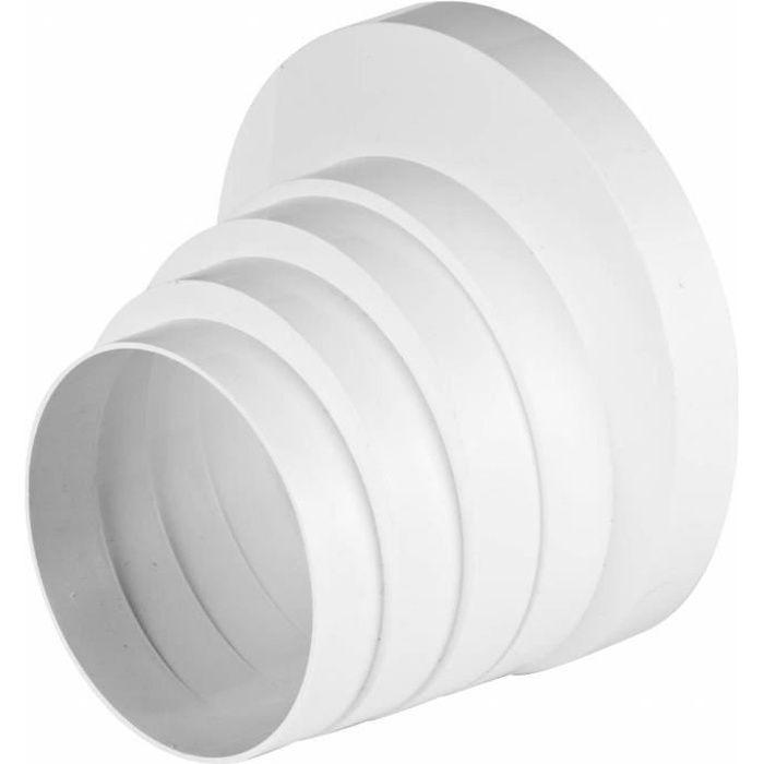 R/éducteur de tuyau de ventilation MKK Aluflex 18438 En acier galvanis/é