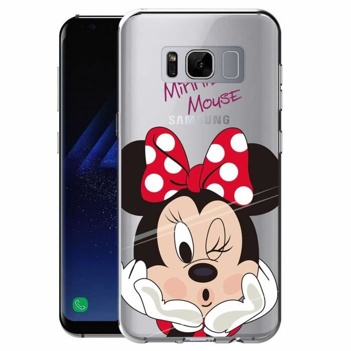 samsung s8 coque minnie