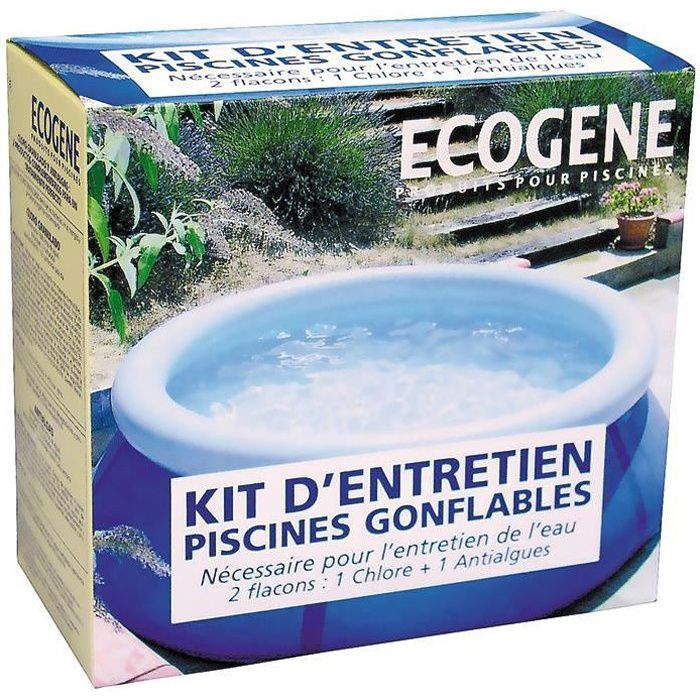 ecogene kit entretien piscine hors sol achat vente traitement de l 39 eau ecogene kit entretien. Black Bedroom Furniture Sets. Home Design Ideas