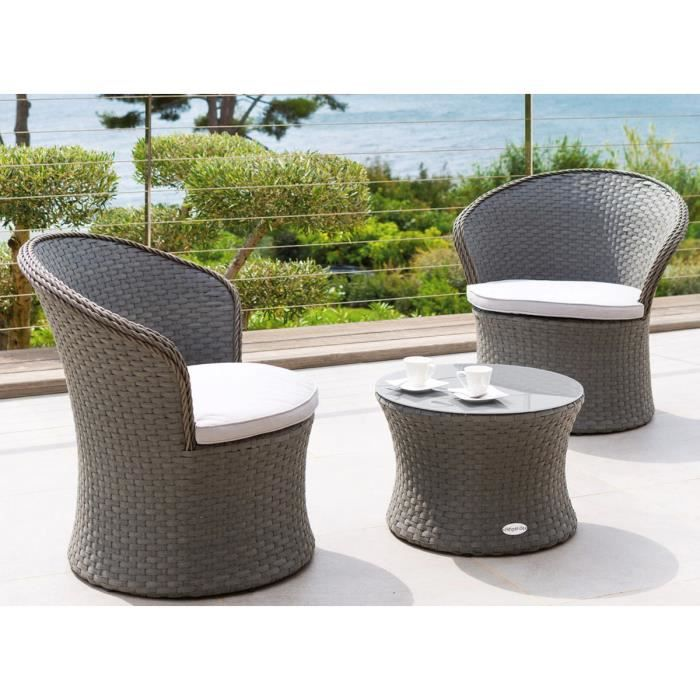 salon de jardin r sine tress e bahamas achat vente salon de jardin salon de jardin r sine. Black Bedroom Furniture Sets. Home Design Ideas
