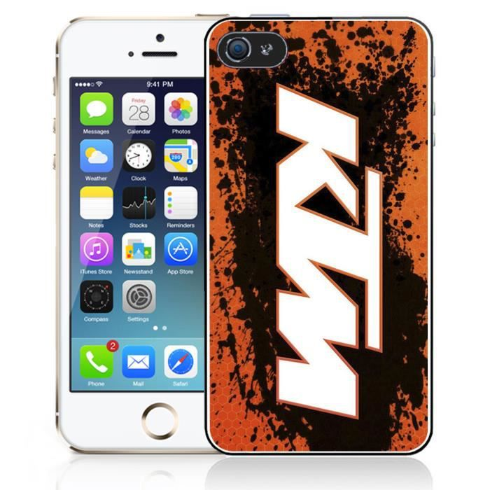 coque iphone 5c ktm logo