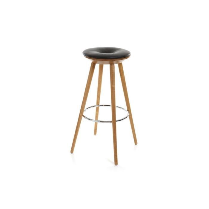 miliboo tabouret de bar style scandinave en f achat. Black Bedroom Furniture Sets. Home Design Ideas