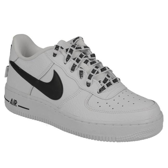 BASKET Basket Nike air force 1 LV8 junior en cuir blanc e