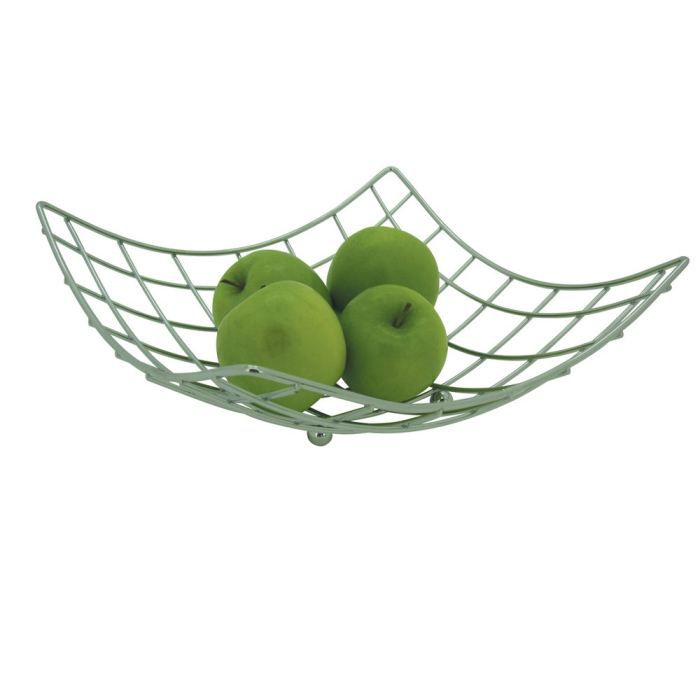 corbeille fruits quadrillage achat vente corbeille pani re cdiscount. Black Bedroom Furniture Sets. Home Design Ideas