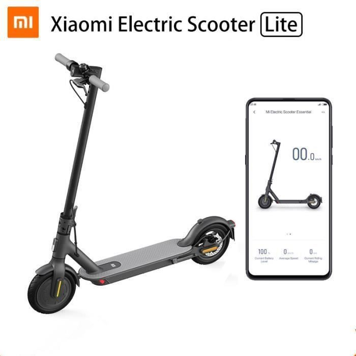 Photo de xiaomi-trottinette-electrique-mi-electric-scooter