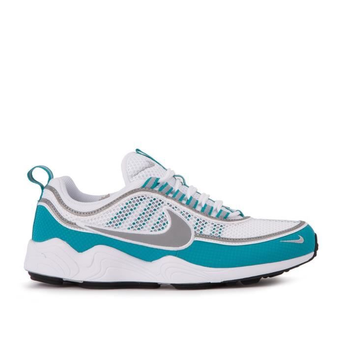 Baskets Nike Air Zoom Spiridon grise bleue et blanche. 84776-102. Eonf11DTer