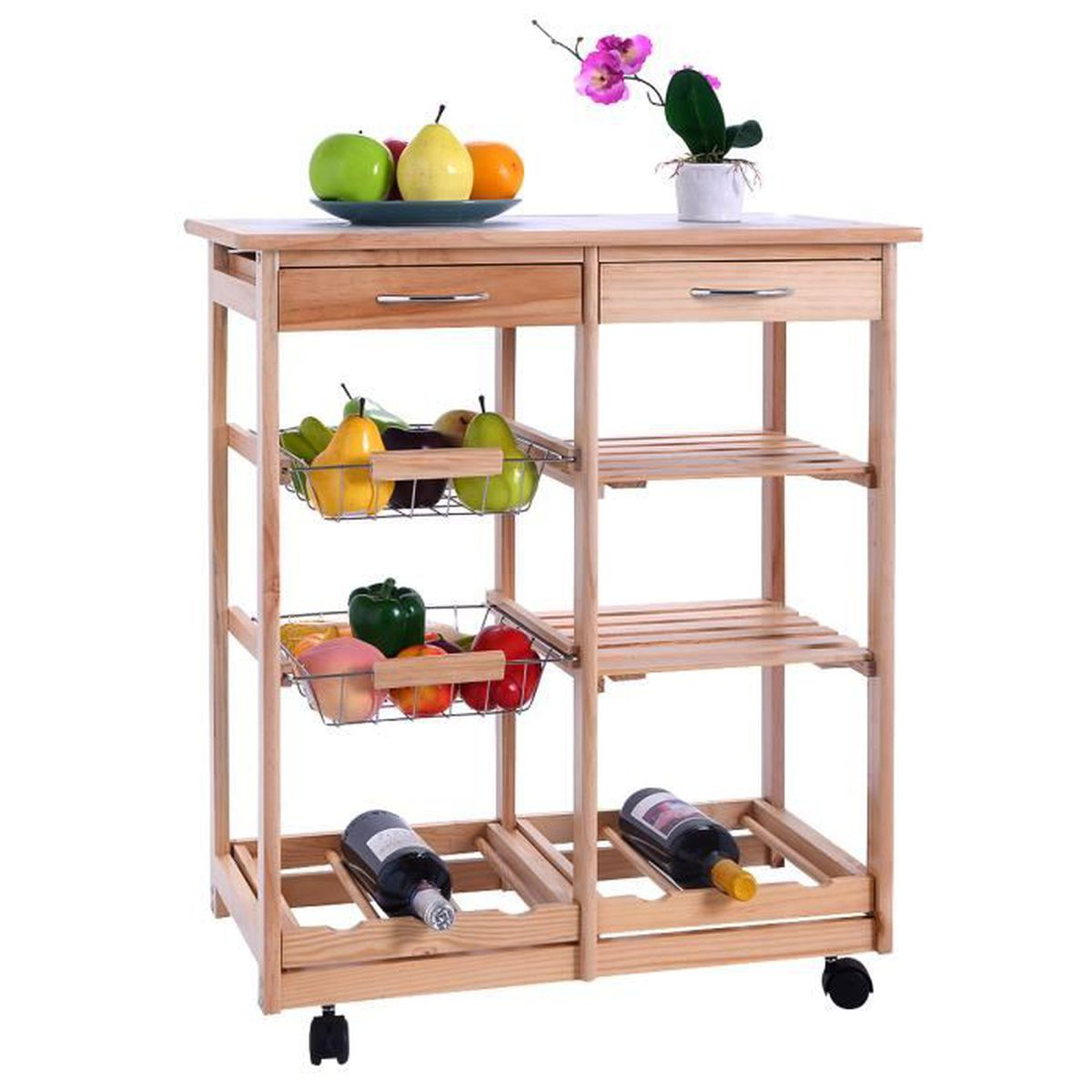 Table etagere cuisine table etagere cuisine with table for Etagere de cuisine en palette