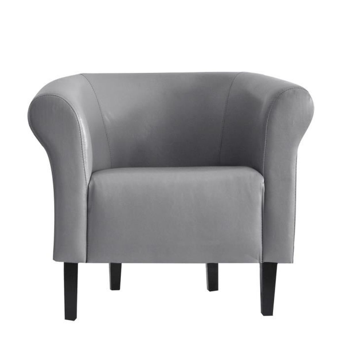 Fauteuil Cuir Gris Best Nevada Fauteuil Cuir Gris Vintage With
