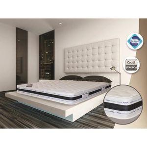MATELAS Matelas luxe 160x200x22 cm grand confort