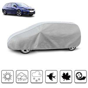 BÂCHE DE PROTECTION Housse de protection carrosserie auto extérieur Pe