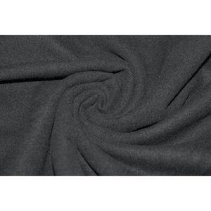 TISSU Tissu Caban Noir -Au Mètre