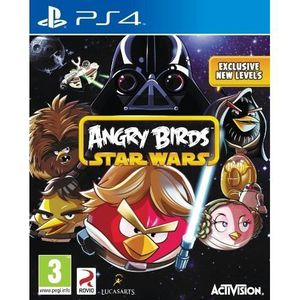 JEU PS4 ANGRY BIRDS : STAR WARS  [IMPORT ANGLAIS] [JEU …
