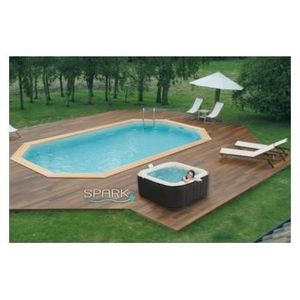 coque de spa jacuzzi achat vente coque de spa jacuzzi pas cher cdiscount. Black Bedroom Furniture Sets. Home Design Ideas