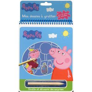 idée cadeau. Boys Stocking Filler 5 PEPPA PIG en Forme De Crayons /& Dessin Pad Filles