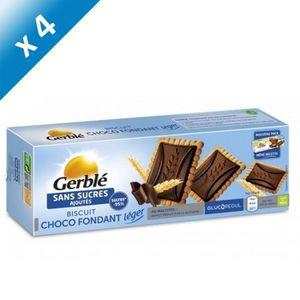 BISCUITS SECS GERBLE Biscuits et tablette de chocolat noir - 126